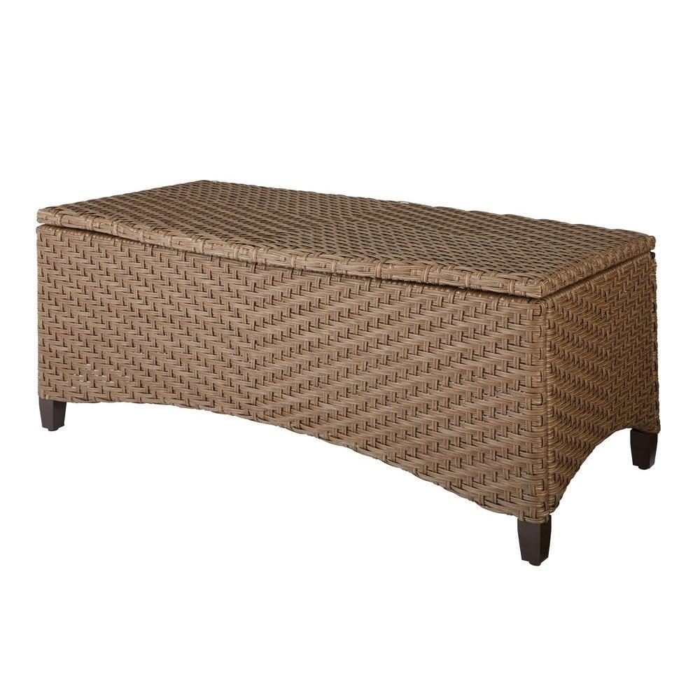 Bolingbrook Trunk Wicker Outdoor Patio Coffee Table