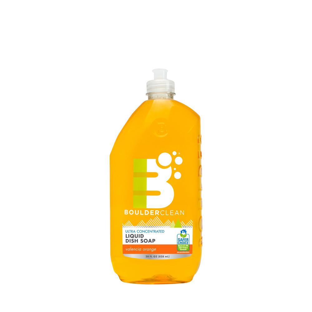 28 oz. Valencia Orange Clean Natural Liquid Dish Soap