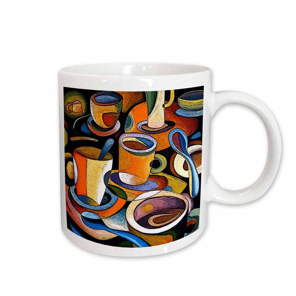 Paul Honatke Designs Prints 11 oz. White Ceramic Cups Poster mugs
