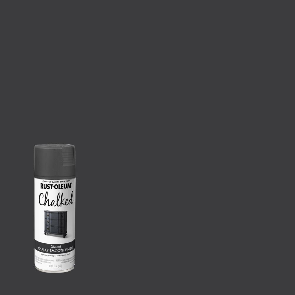 Rust-Oleum 12 oz. Chalked Charcoal Ultra Matte Spray Paint