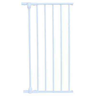 XpandaGate 29.5 in. H x 15 in. W x 2 in. D Extension for Expandable Gate in White