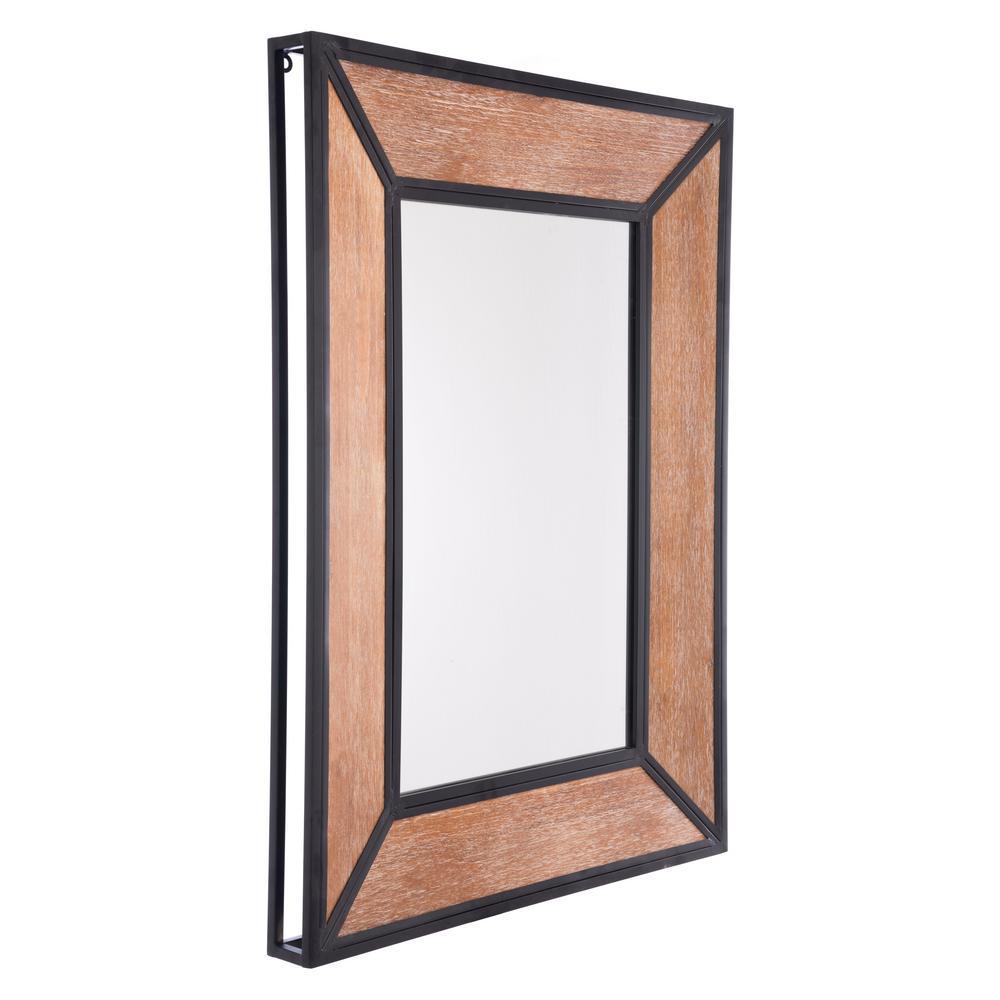 Balc Metal Antique Wall Mirror