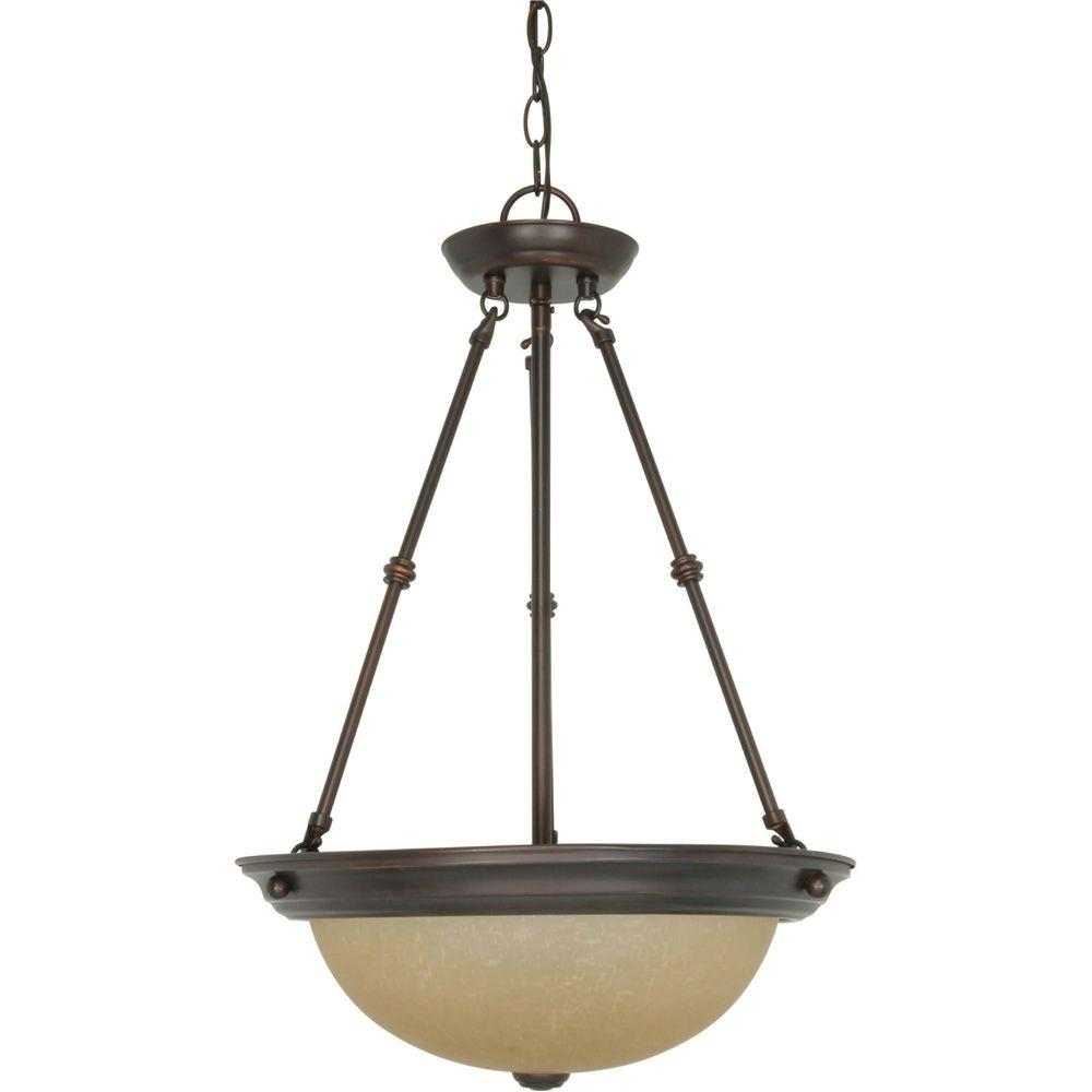 Westinghouse Iron Hill 3-Light Oil Rubbed Bronze Island