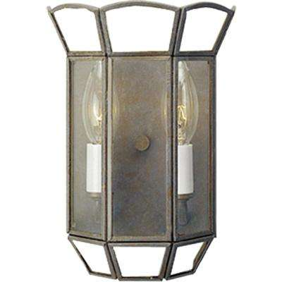 2-Light Prairie Rock Interior Wall Sconce