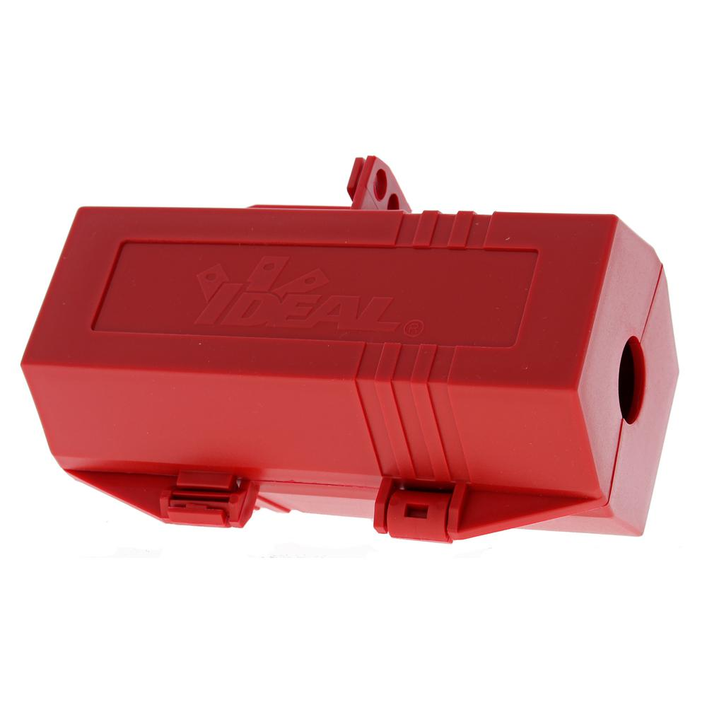 220/250-Volt, 3-1/4 in. x 3-1/4 in. x 7 in. Plug Lockout