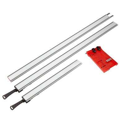 WTX Clamping Straight Edge (4-Piece) with Saw Plate Kit