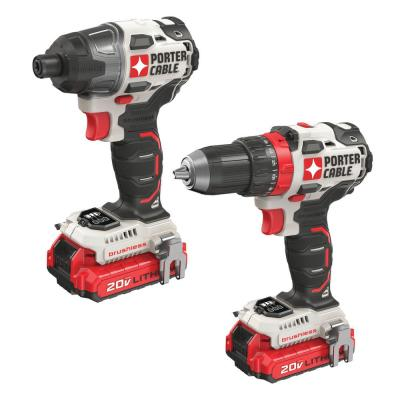 20-Volt MAX Lithium-Ion Brushless Cordless Combo Kit (2-Tool)