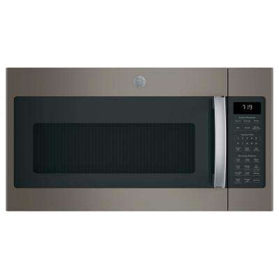 1.9 cu. ft. Over the Range Microwave in Slate with Sensor Cooking, Fingerprint Resistant