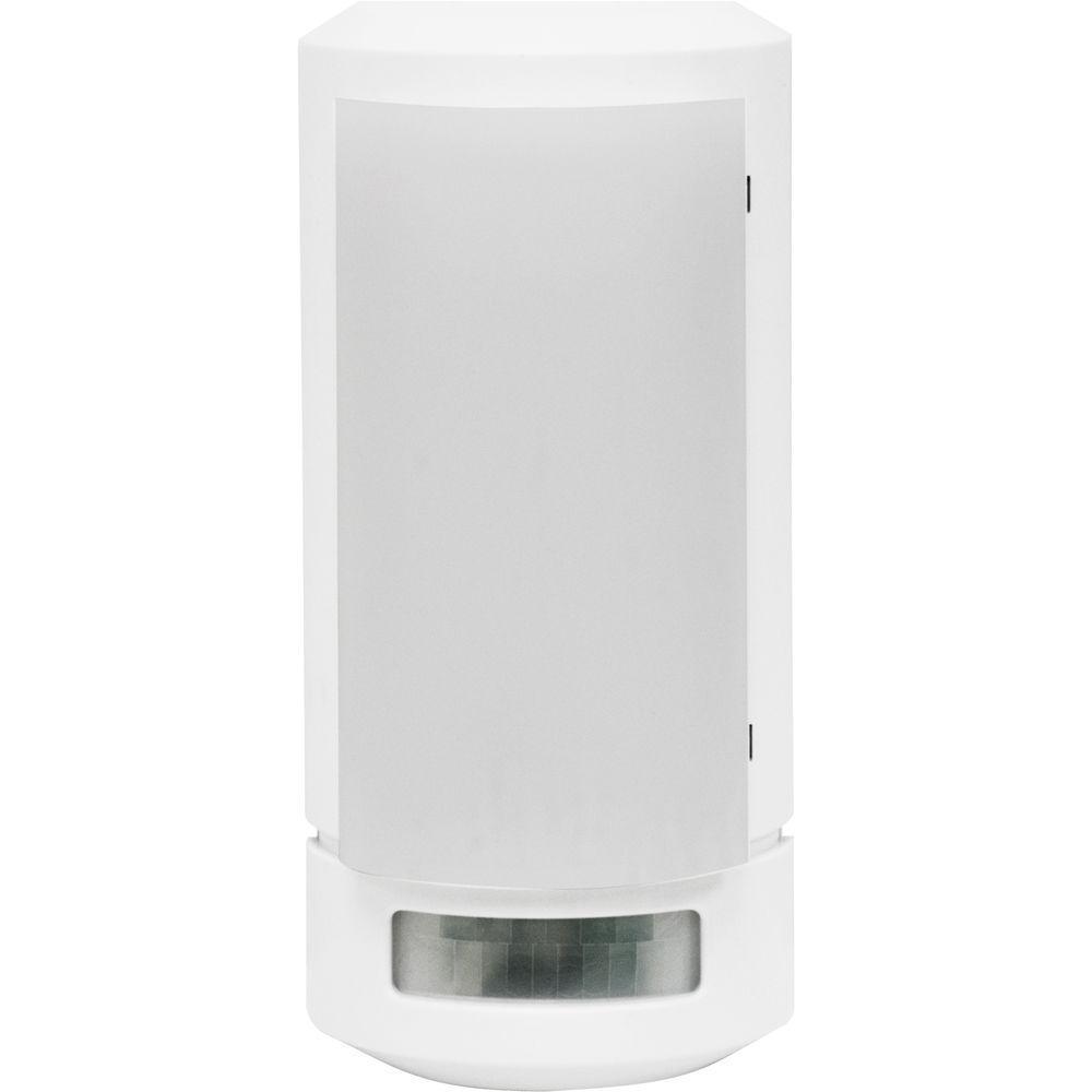 White Wireless Motion-Sensing LED Sconce