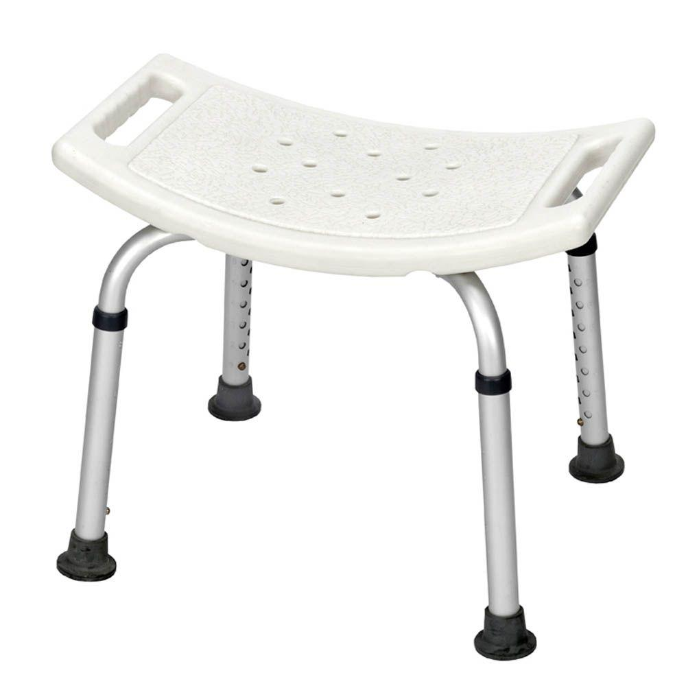 null Revolution Mobility Shower Bench without Back