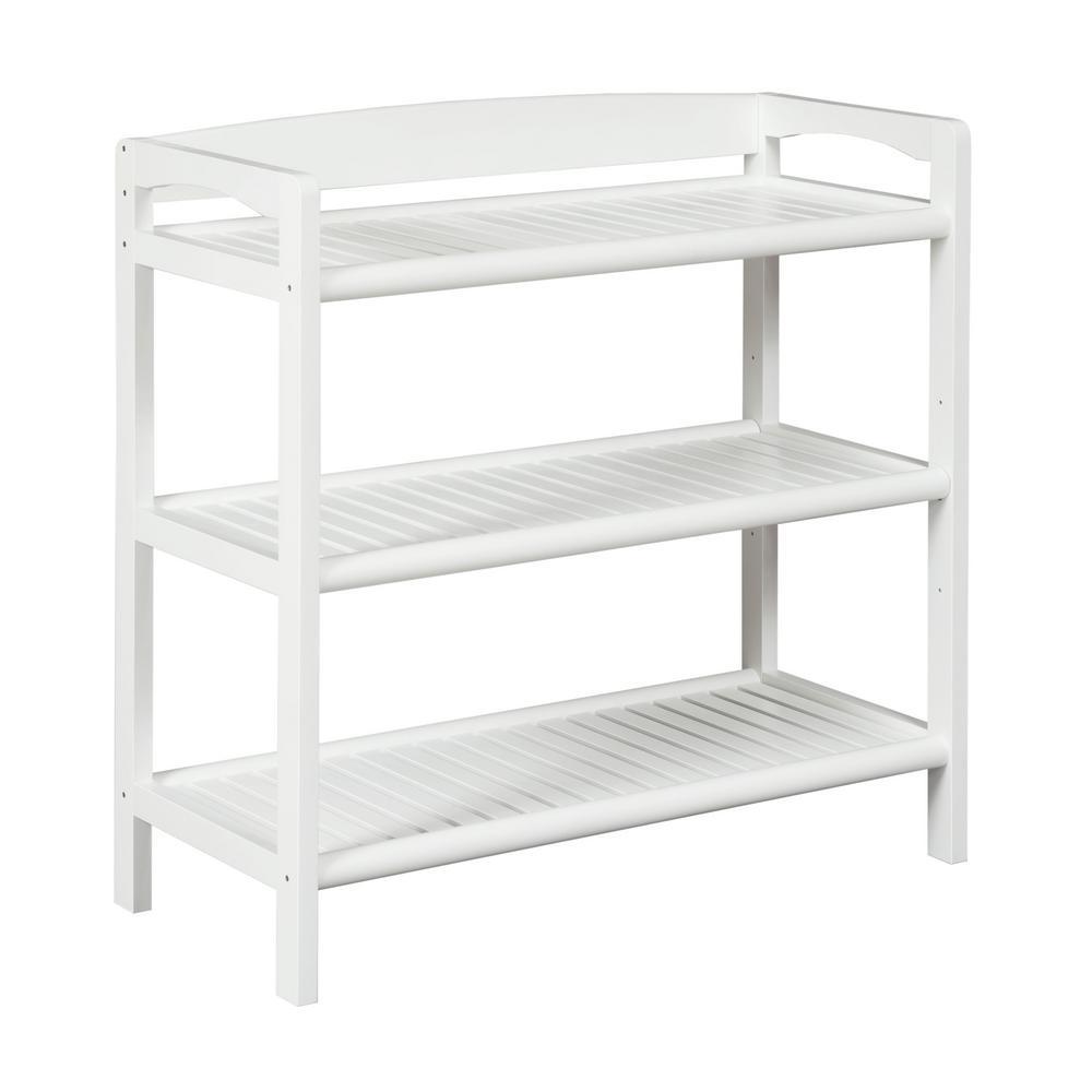 Abingdon White Adjustable Bookcase