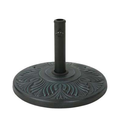 Rufus 53.4 lbs. Concrete Patio Umbrella Base in Weathered Bronze