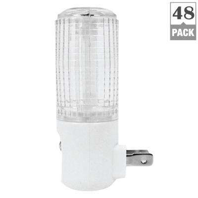 Eternalite 1W Equivalent Automatic Sensor On at Dark/Off at Dawn LED Night Light (48-Pack)