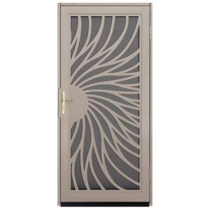 Charmant Solstice Tan Surface Mount Steel Security Door With Insect. Unique Home  Designs ...