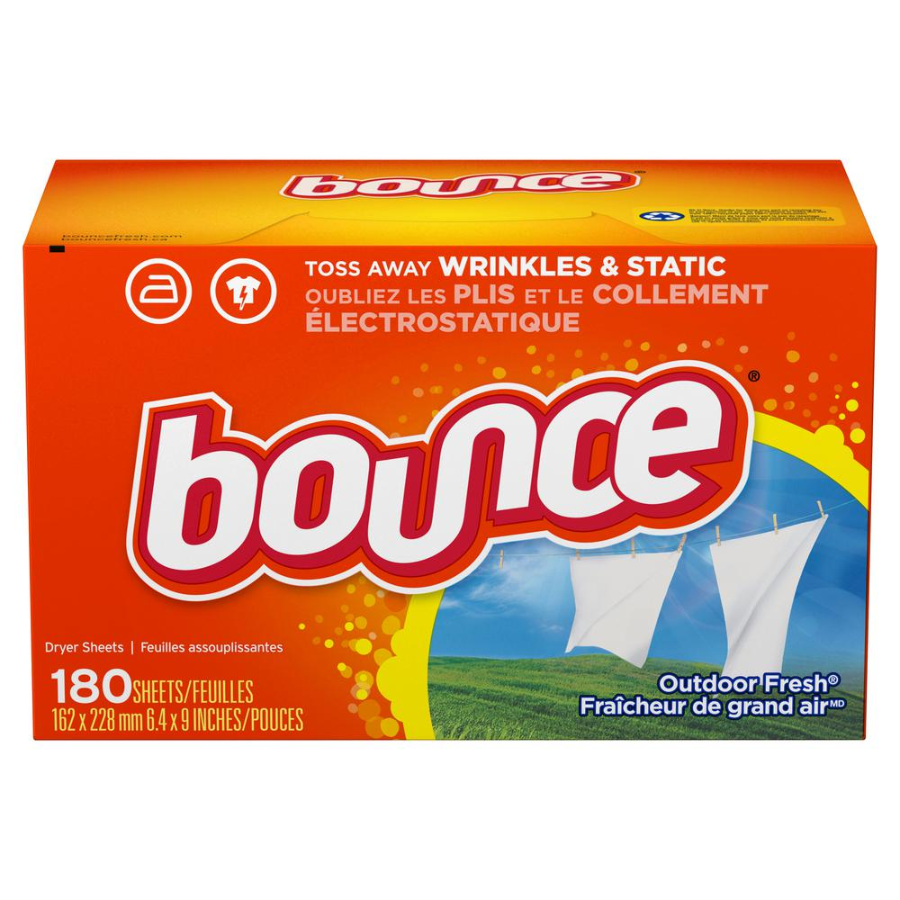 Bounce Outdoor Fresh Dryer Sheets (180-Count)