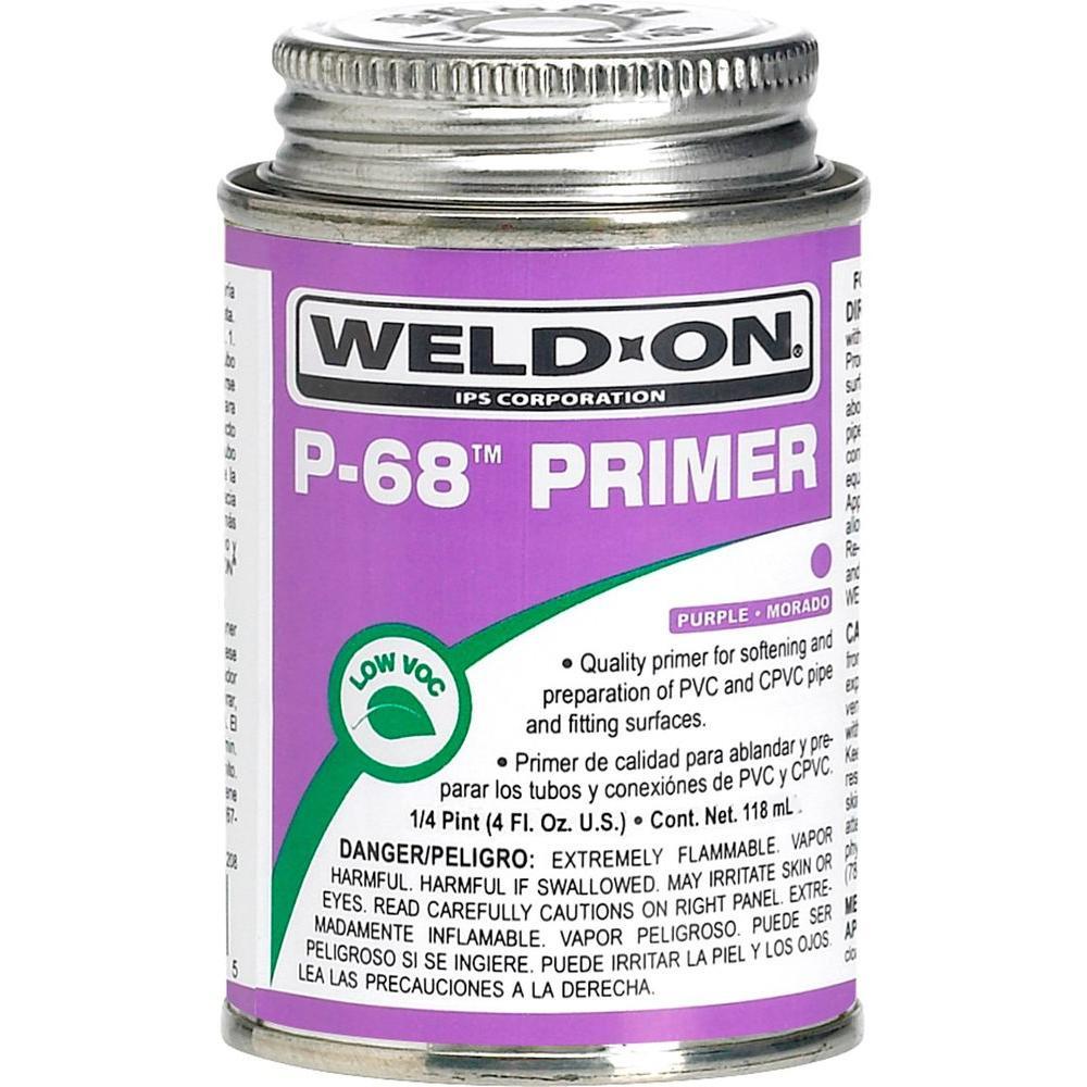 4 oz  PVC P-68 Primer in Purple
