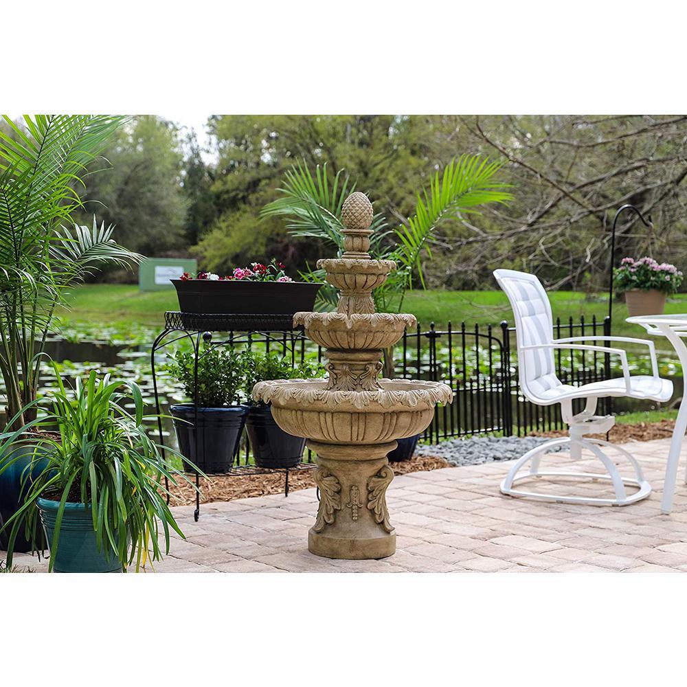 Ibiza Resin Outdoor Fountain