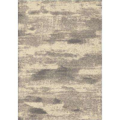 Lush Fog Gray 5 ft. 3 in. x 7 ft. 6 in. Indoor Area Rug