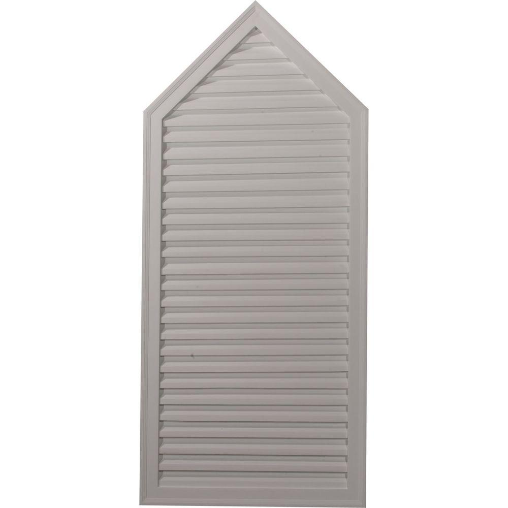 Ekena millwork 1 7 8 in x 24 1 8 in x 54 1 8 in for Decorative louvers