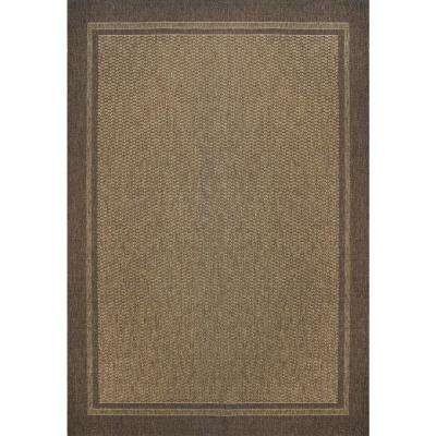 Savannah Havava And Chestnut 5 Ft X 7 Indoor Outdoor Area Rug