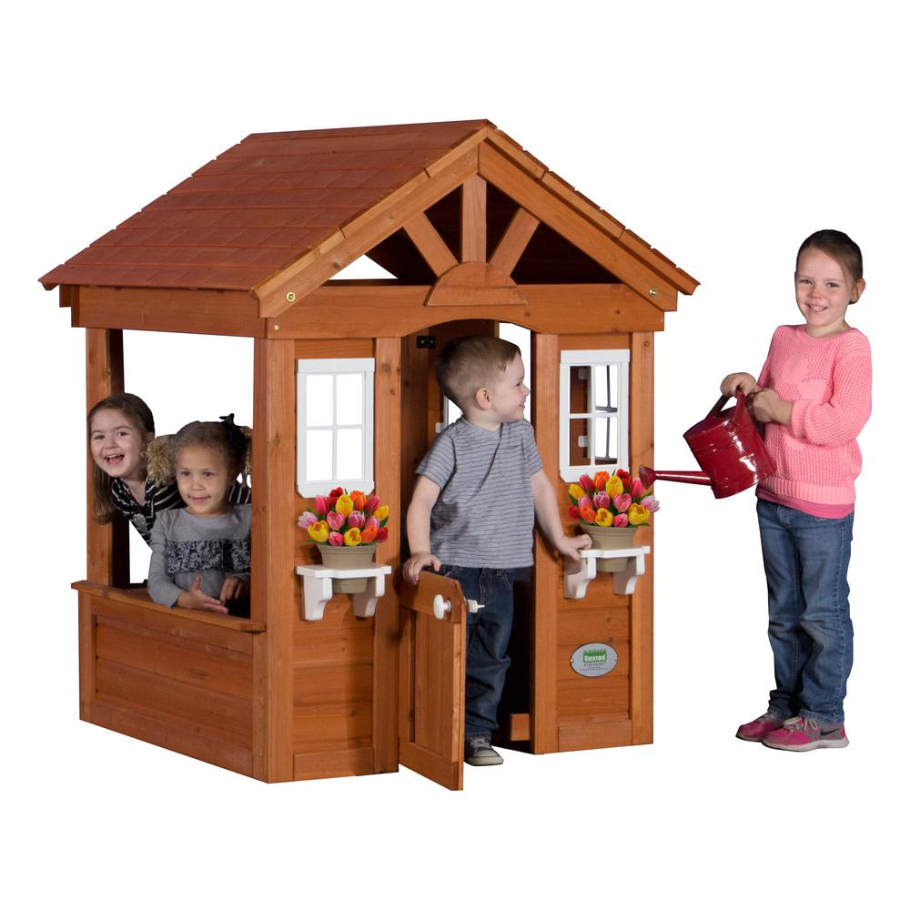 Home Depot Playhouses : Backyard discovery columbus all cedar playhouse com