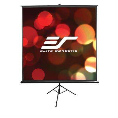 Tripod Series 71 in. Diagonal Portable Projection Screen with 1:1 Ratio