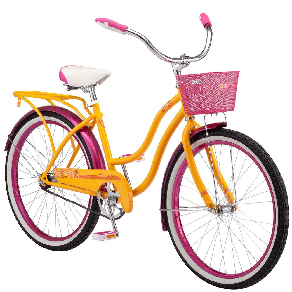 Schwinn 24 in  Girl's Bike for Ages 8-Years to 12-Years in Orange