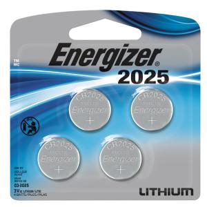 Energizer Lithium Coin Cell 2025 4-Pack by Energizer