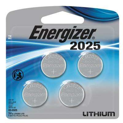 Lithium Coin Cell 2025 4-Pack