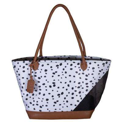 11.25 in. x 8.5 in. x 10 in. Dalmatian Tote Bag