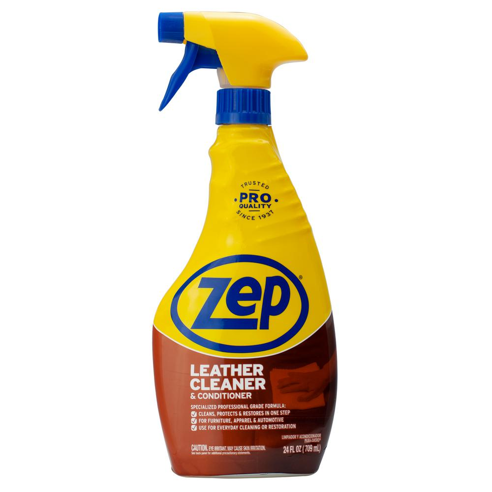 Zep 24 Oz Leather Cleaner And Conditioner