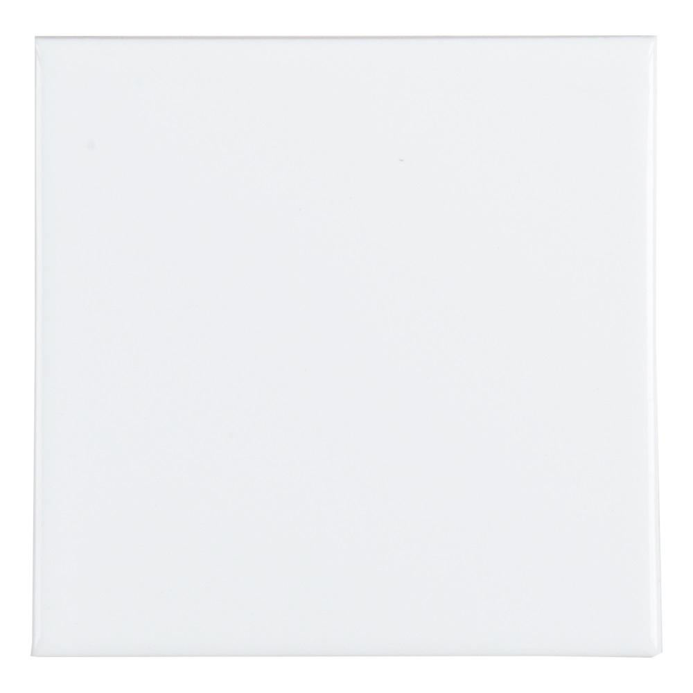 Jeffrey Court Fresh White 4-1/4 in. x 4-1/4 in. Ceramic Field Wall Tile (13.04 sq. ft. / case)