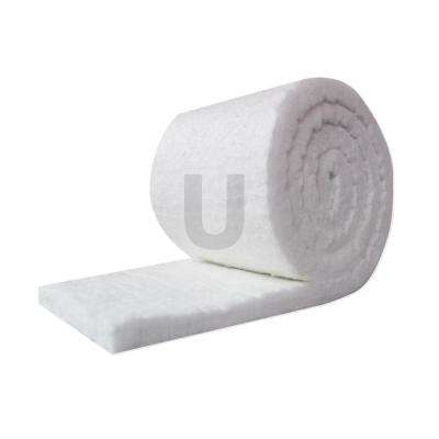Ceramic Fiber Insulation Blanket Roll, (8# Density, 2300°F) (1in.x24in.x25ft.)for Kilns, Ovens, Furnaces, Forges, Stoves