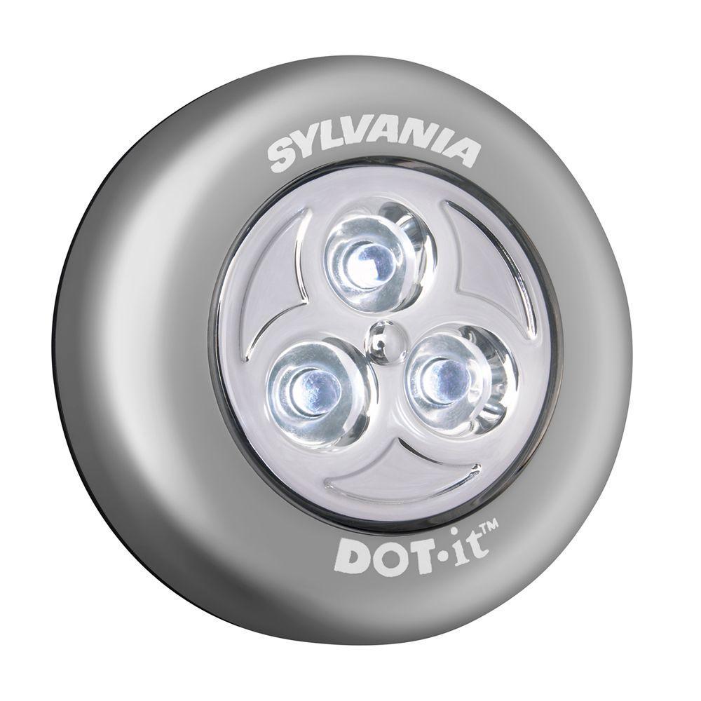 Sylvania Dot It Led Battery Operated Stick On Tap Light