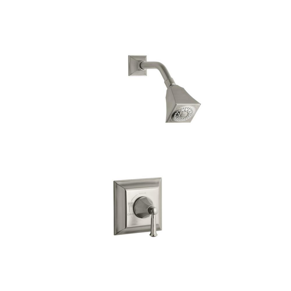 Kohler Memoirs Stately 1 Handle Tub And Shower Faucet Trim Kit In Vibrant Brushed Nickel