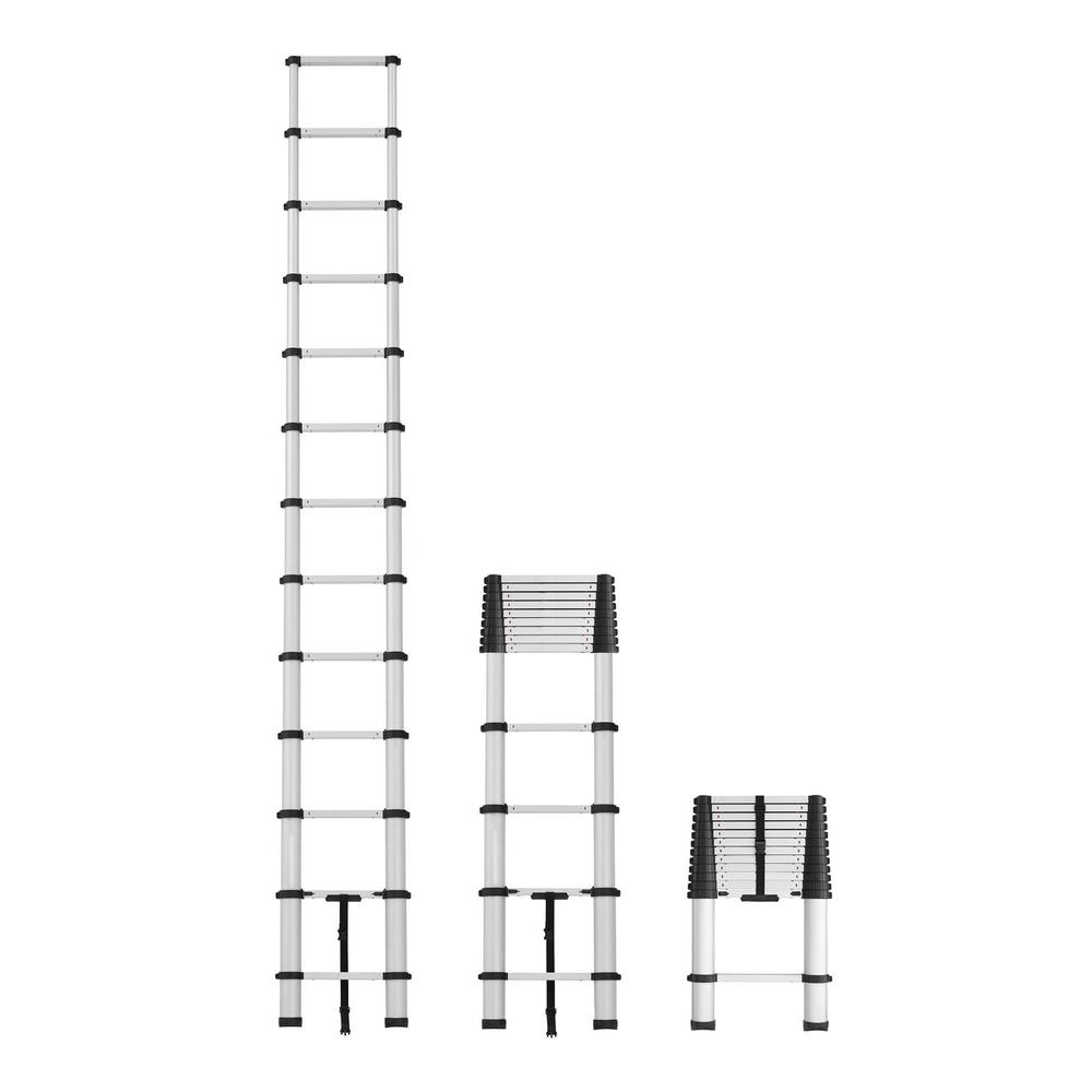 Cosco 16 Ft Reach Telescopic Aluminum Pinch Free Extension Ladder