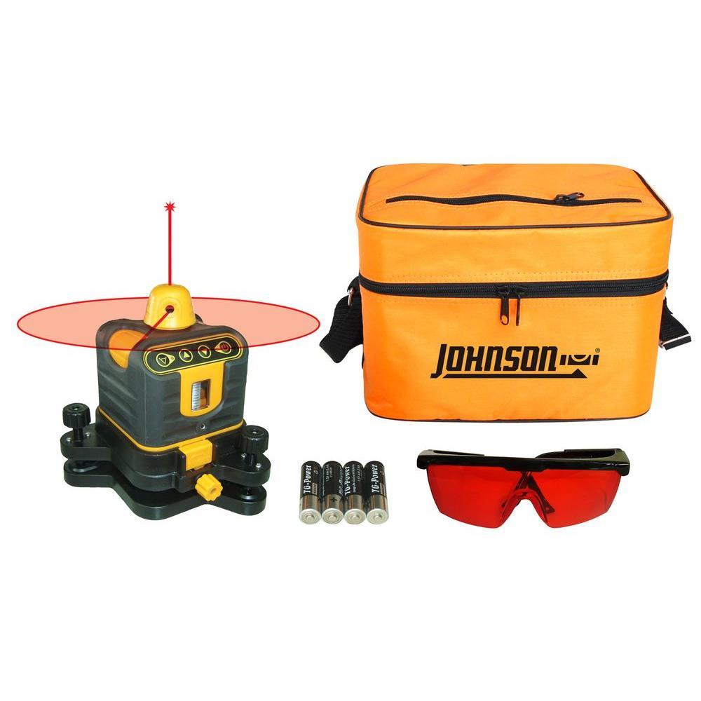 Johnson Manual-Leveling Rotary Laser Level