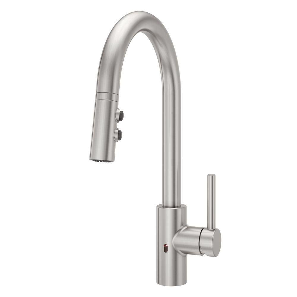 Pretty Electronic Kitchen Faucets Images Gallery >> Single Handle ...