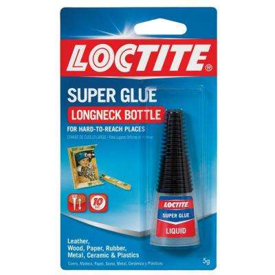 0.18 fl. oz. Liquid Longneck Bottle Super Glue (6-Pack)