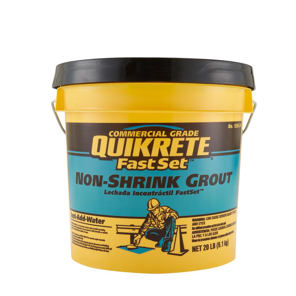 Quikrete 20 lb. FastSet Non-Shrink Grout