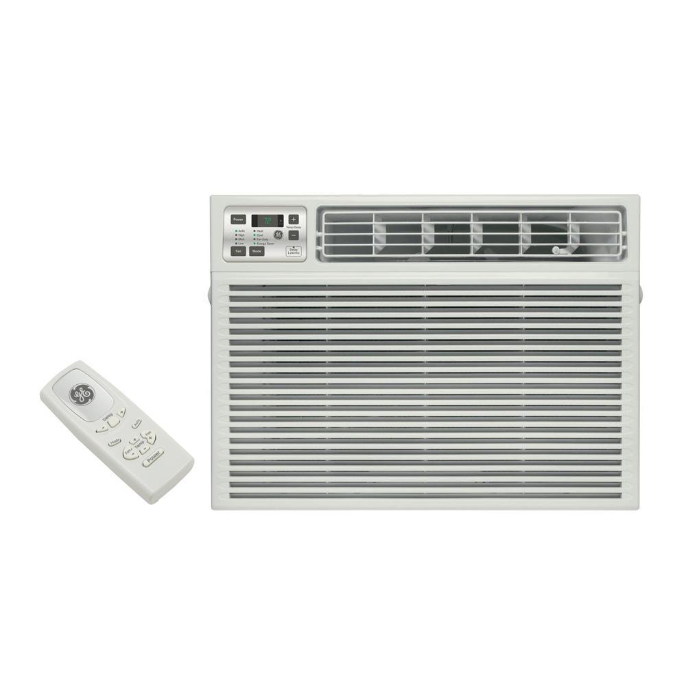 24,000 BTU 230-Volt Electronic Heat/Cool Room Window Air Conditioner