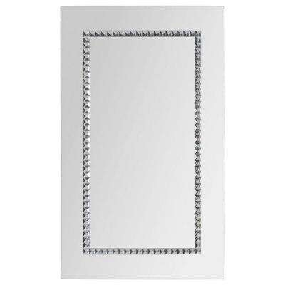 Luna 24 in. x 40 in. Transitional Framed Mirror