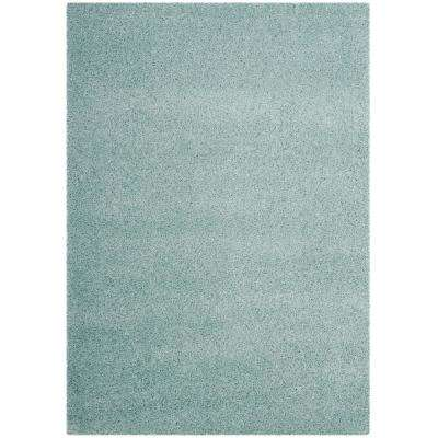 Laguna Shag Light Blue 8 ft. 6 in. x 12 ft. Area Rug