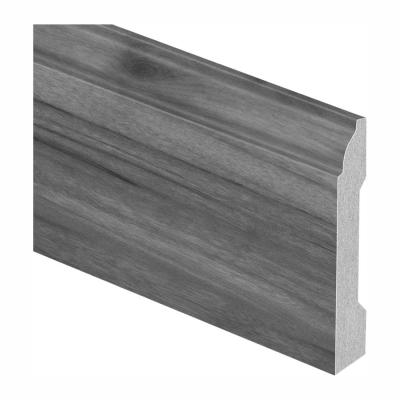 Taupe Wood Fusion / Smokewood Fusion 9/16 in. Thick x 3-1/4 in. W x 94 in. L Laminate Base Molding