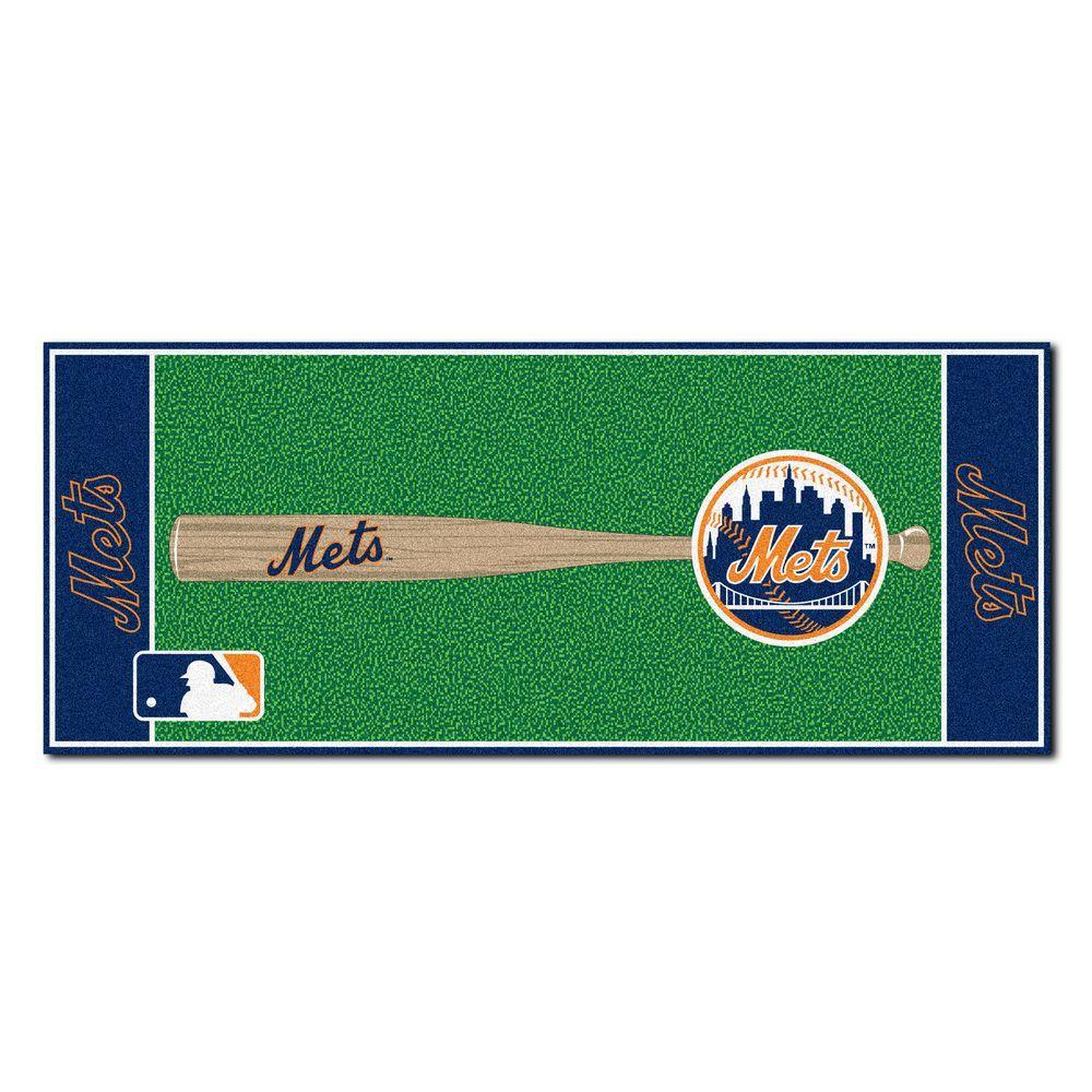 FANMATS New York Mets 2 ft. 6 in. x 6 ft. Baseball Runner