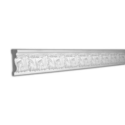 3-1/2 in. x 1 in. x 96 in. Acanthus Polyurethane Panel Moulding Pro Pack 32 LF (4-Pack)