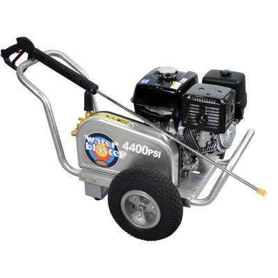 Aluminum Belt Drive 4,400 PSI 4.0 GPM Gas Pressure Washer