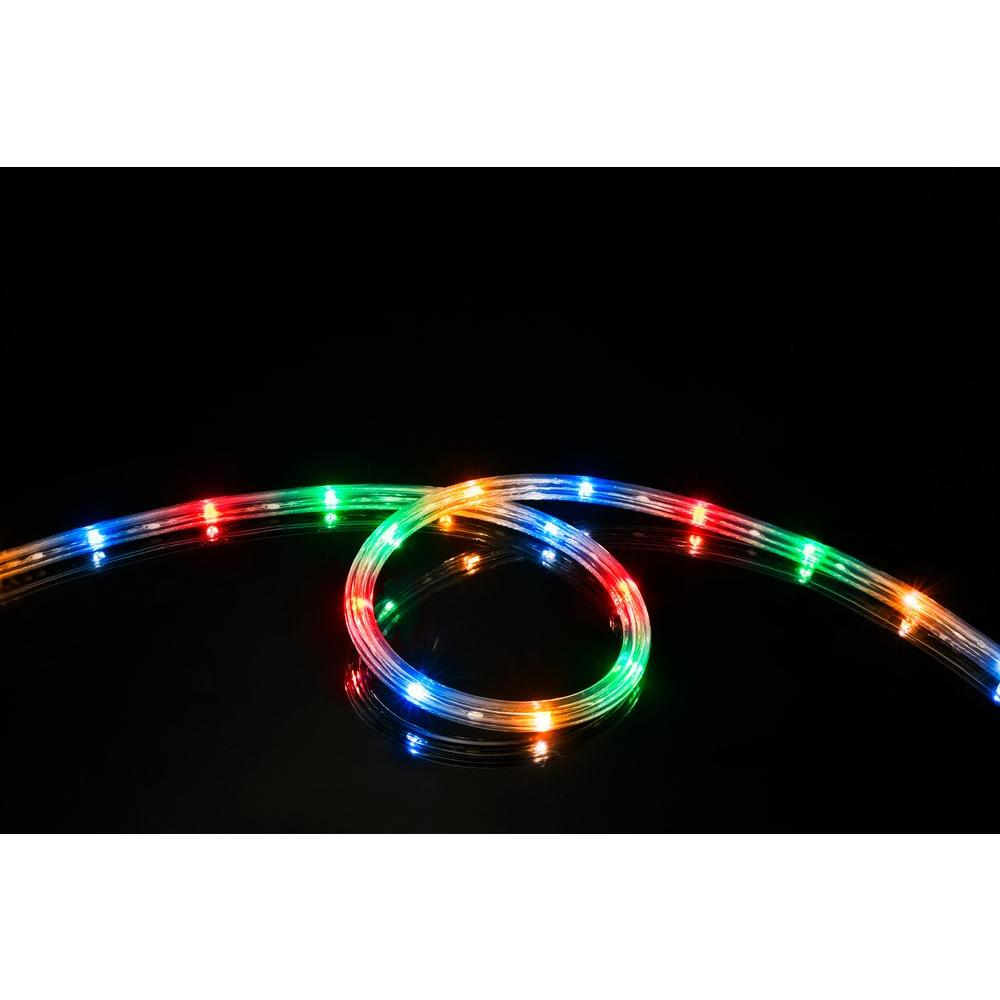 Meilo 16 ft multi color all occasion indoor outdoor led rope light multi color all occasion indoor outdoor led rope light 360 mozeypictures Images
