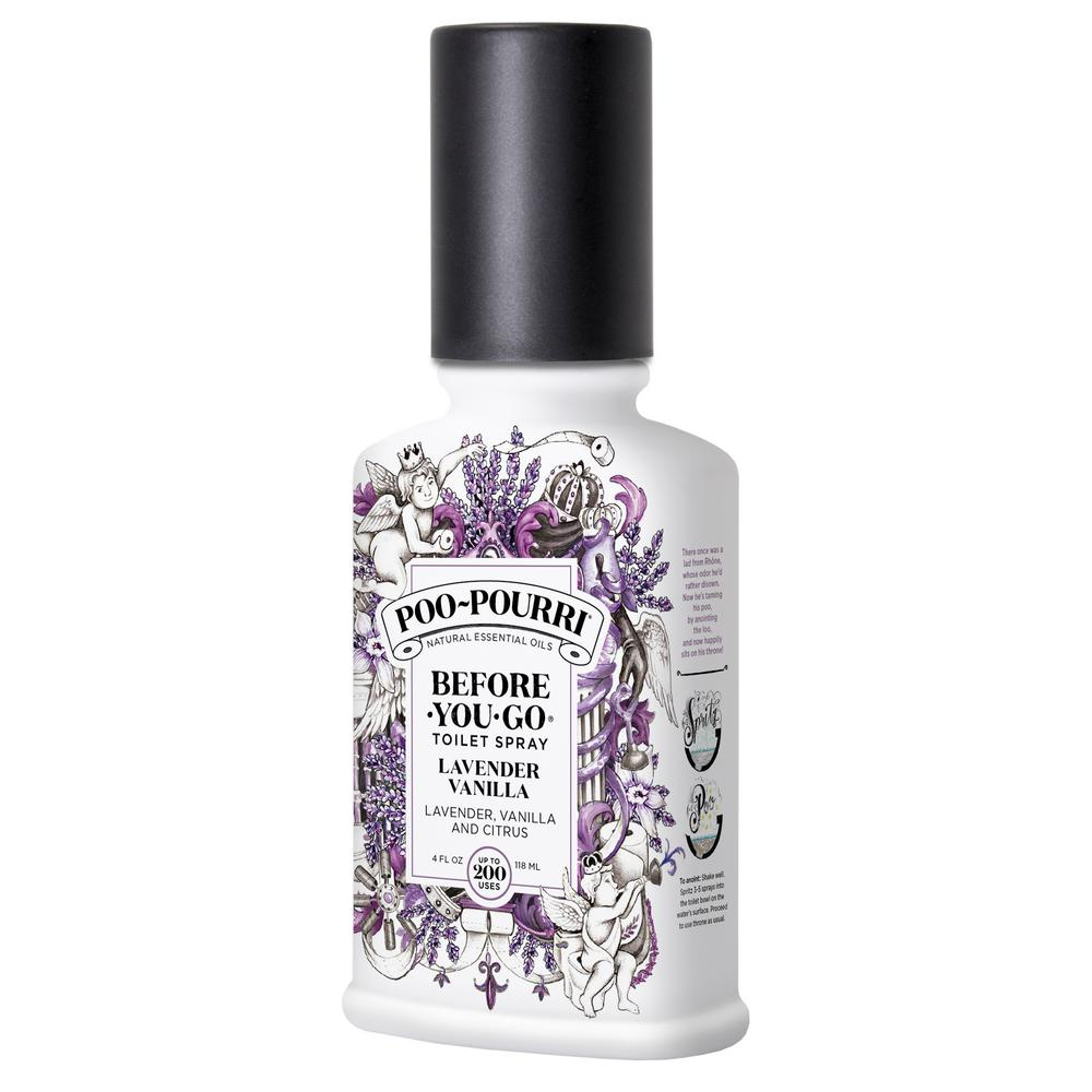 Before-You-Go 4 oz. Lavender Vanilla Toilet Spray (2-Pack)