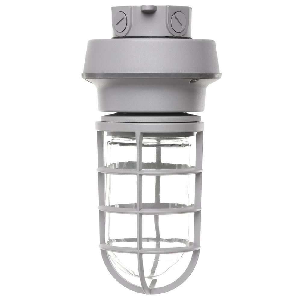 ProLED Gray Integrated LED Outdoor Flush Mount